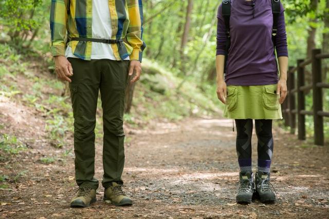 登山靴の種類、選び方