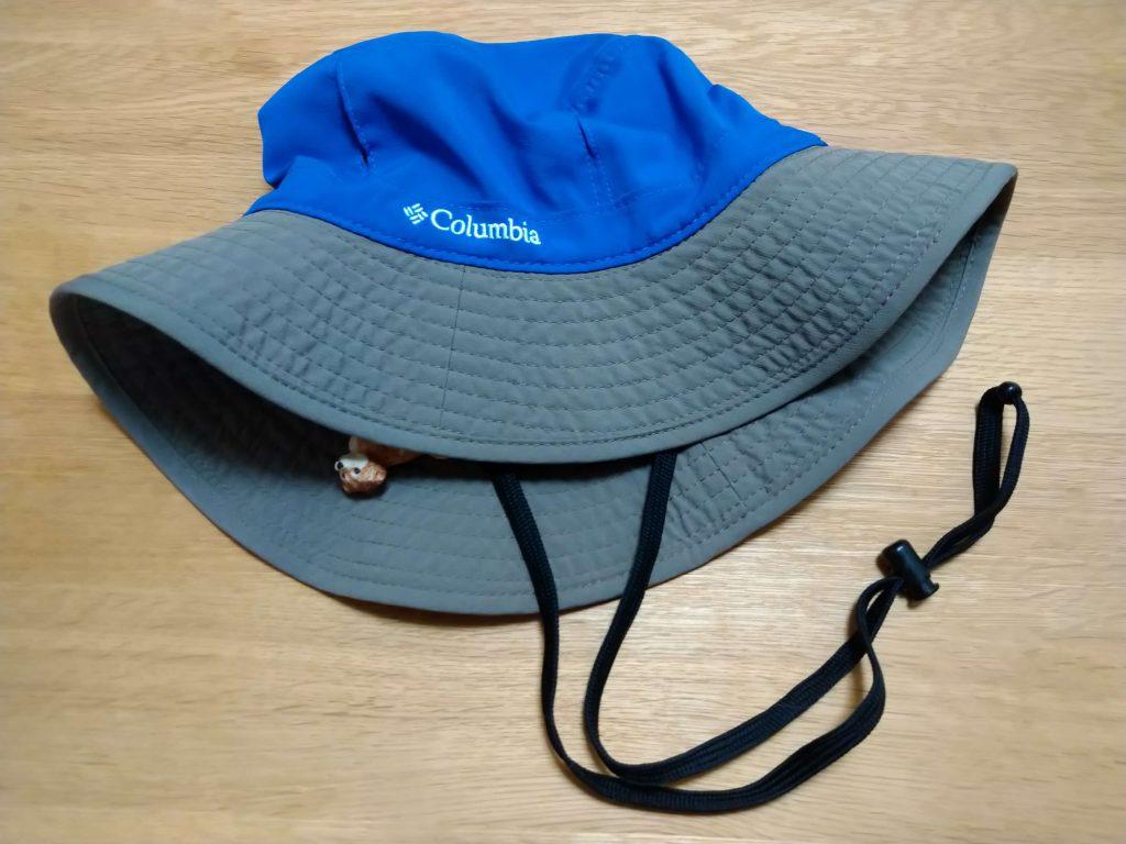 登山用の帽子(コロンビア)