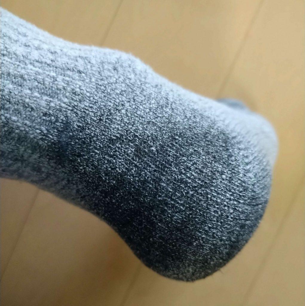 登山に行ってきた普通の靴下