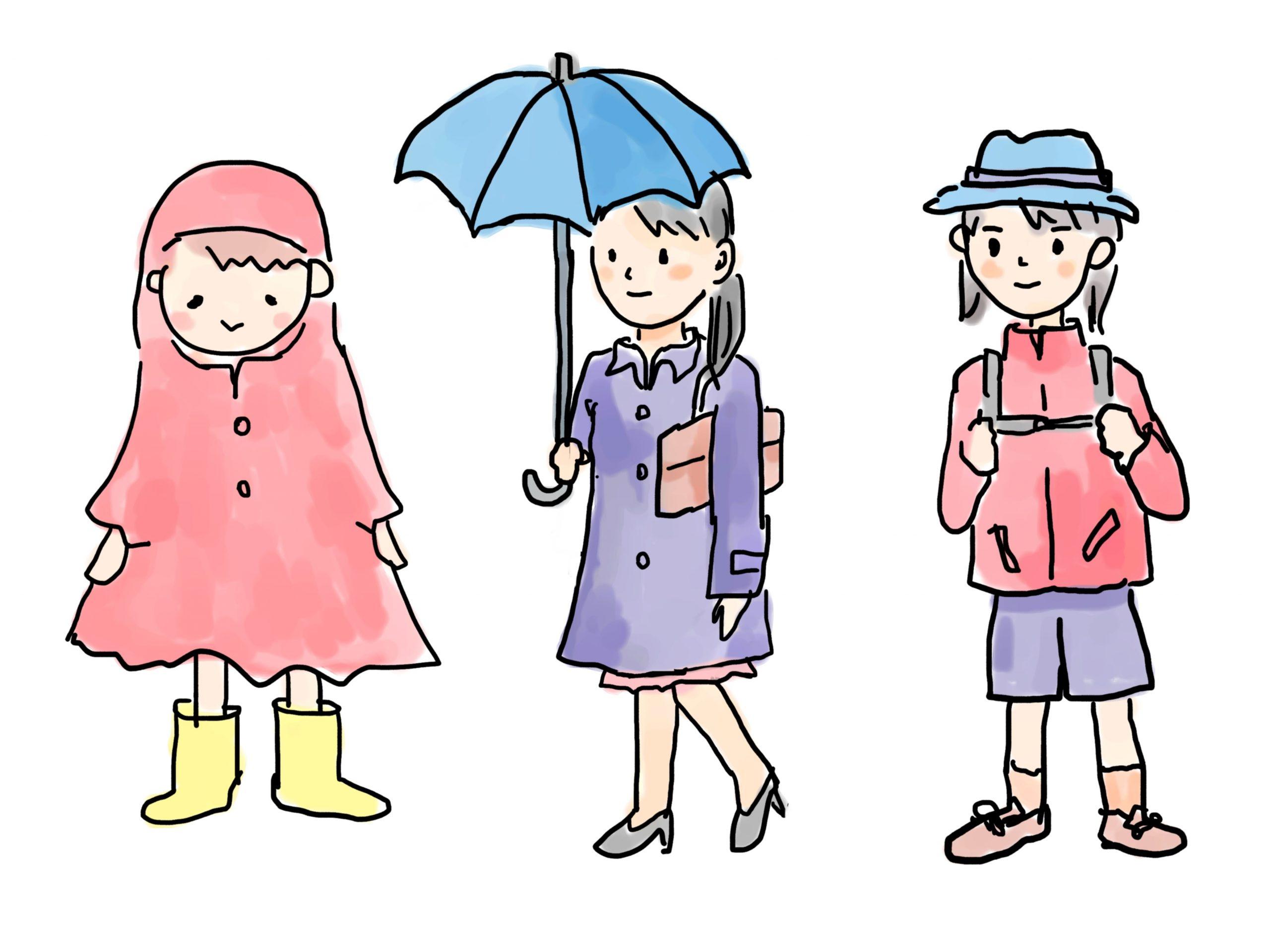 雨具(レインウェア)