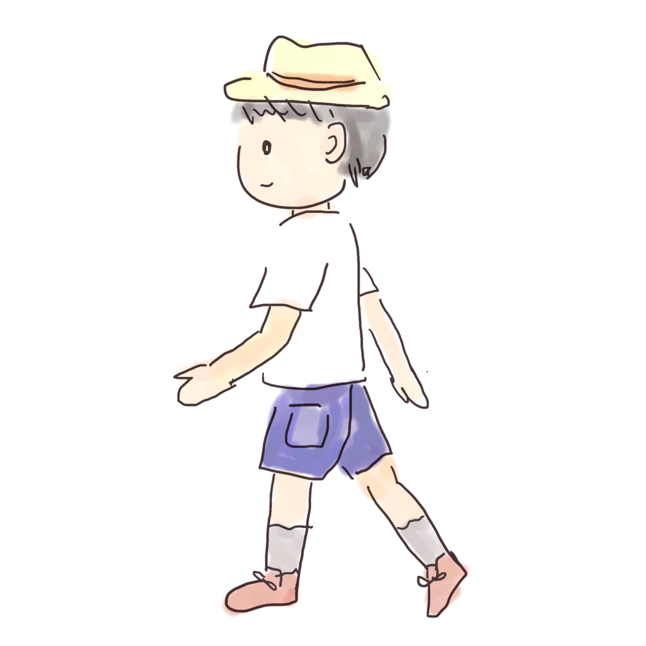 ナンバ歩き
