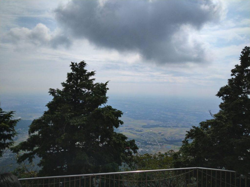 頂上からの景色です