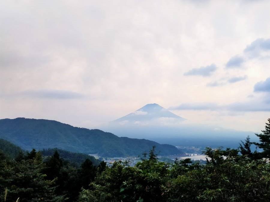Mt.Fujiオートサイトから見える景色