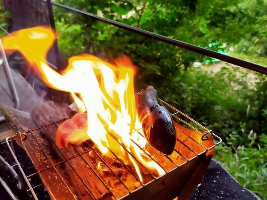 オリーブオイルを塗って焼くと、ジューシーに仕上がります