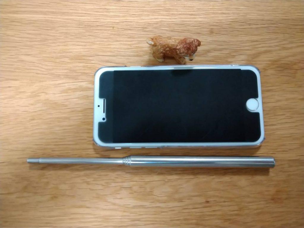 iPhone6よりもやや長いくらいです