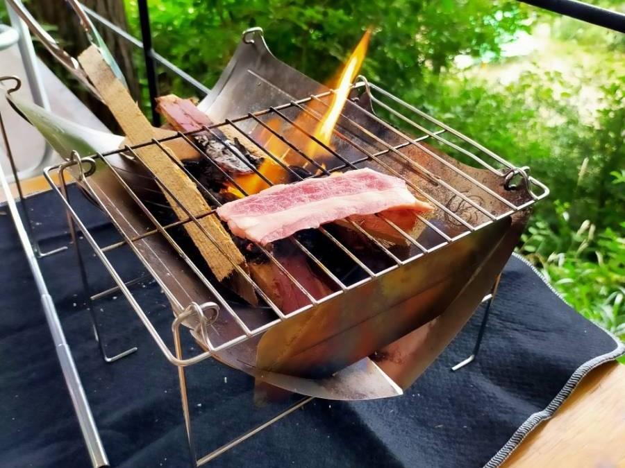 お肉も焼きやすい