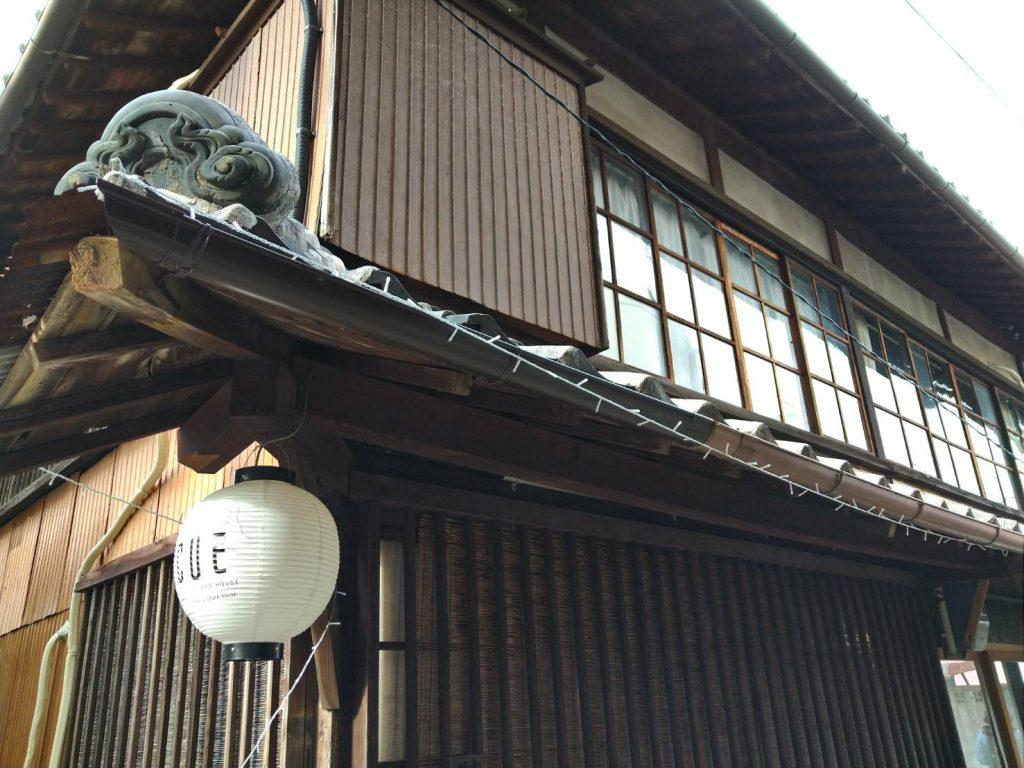 田辺市街歩きで見つけた古民家をリノベーションしたゲストハウスThe CUE(ザ・キュー)