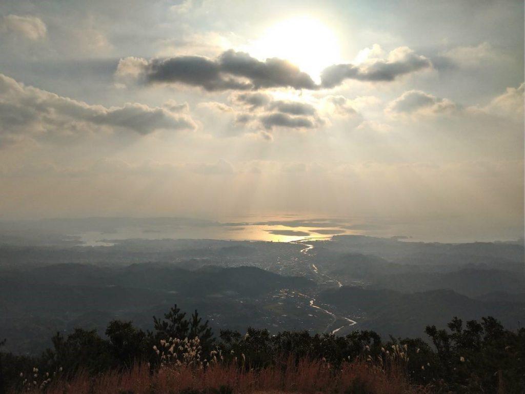 高尾山(たかおやま)から見た景色