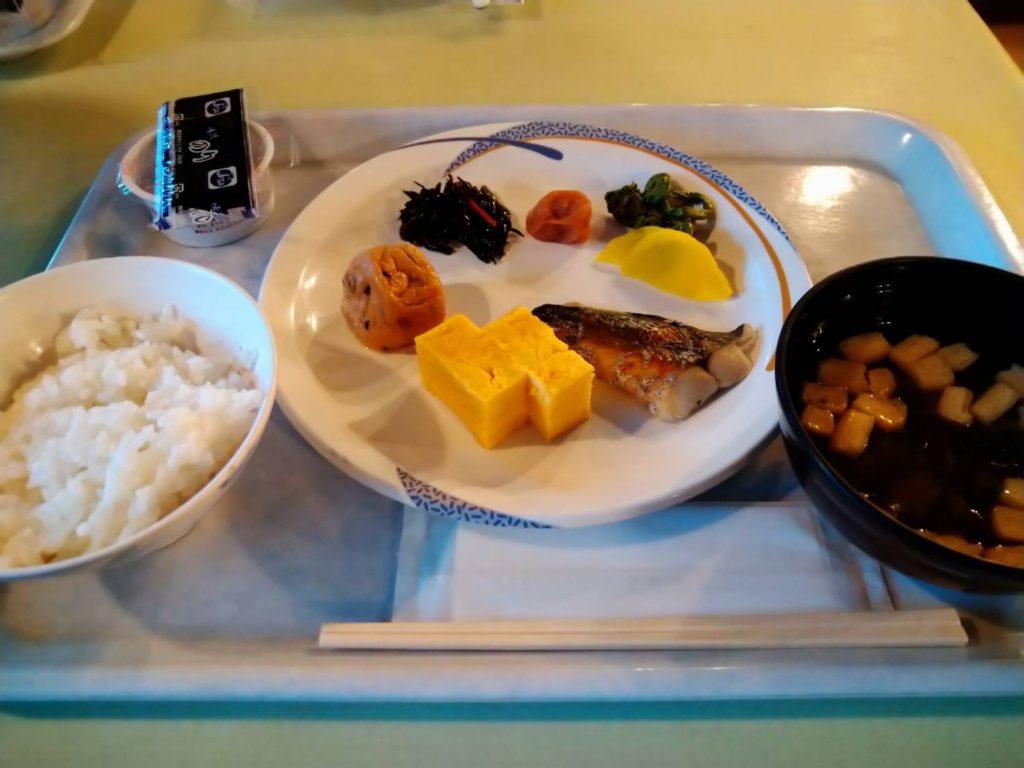 白馬山荘の朝食